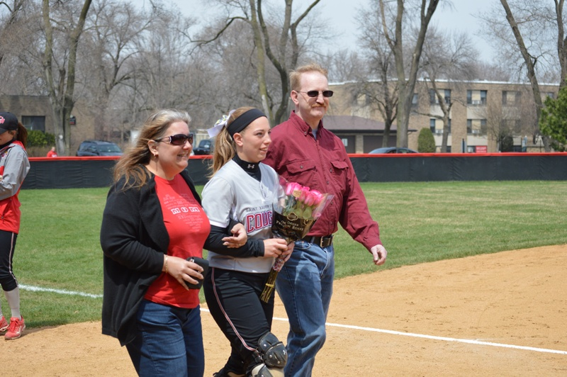 22nd SXU Softball 'Senior Day' vs Grand View (Iowa) 4/19/14 Photo