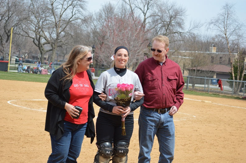23rd SXU Softball 'Senior Day' vs Grand View (Iowa) 4/19/14 Photo