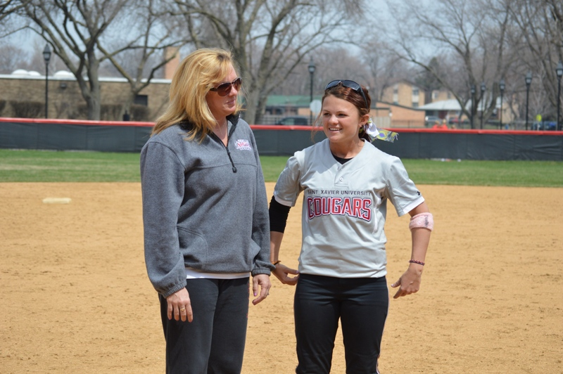 26th SXU Softball 'Senior Day' vs Grand View (Iowa) 4/19/14 Photo