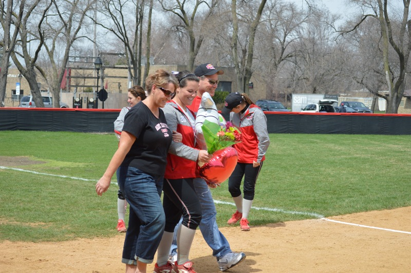 28th SXU Softball 'Senior Day' vs Grand View (Iowa) 4/19/14 Photo