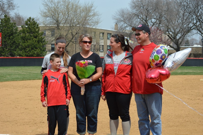 30th SXU Softball 'Senior Day' vs Grand View (Iowa) 4/19/14 Photo
