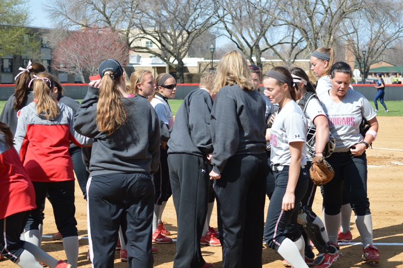 22nd SXU Softball vs Judson (Ill.) 4/22/14 Photo