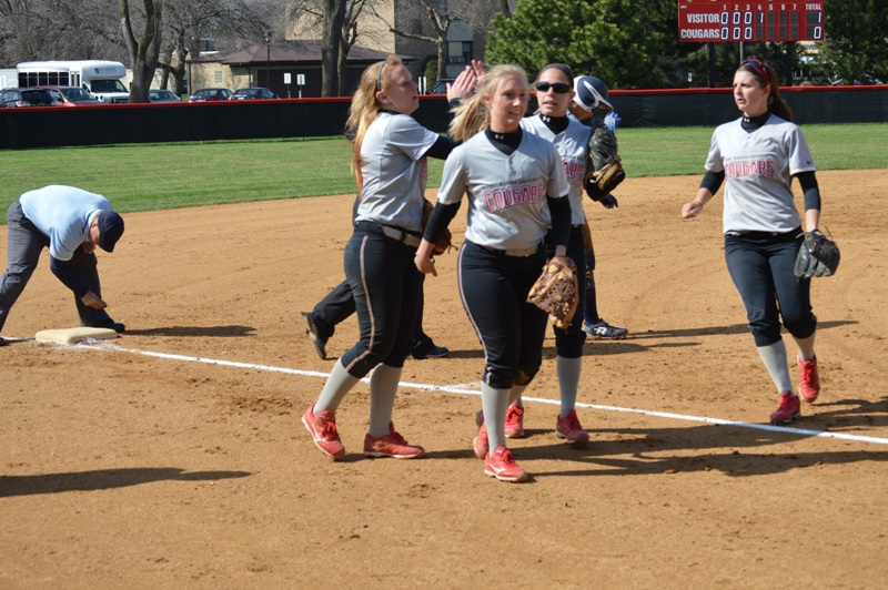 28th SXU Softball vs Judson (Ill.) 4/22/14 Photo
