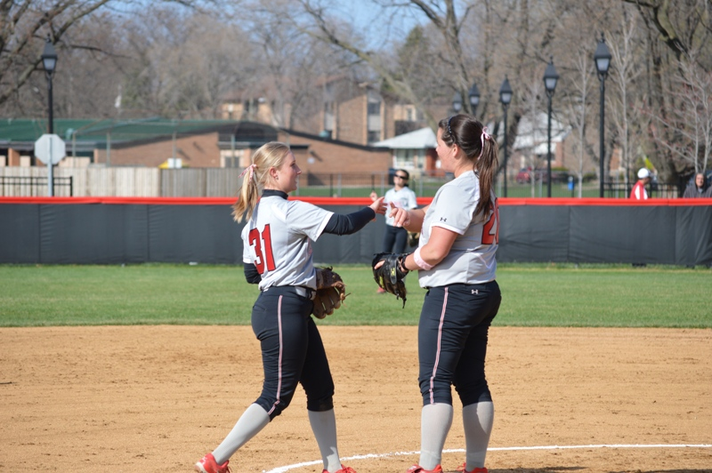 30th SXU Softball vs Judson (Ill.) 4/22/14 Photo