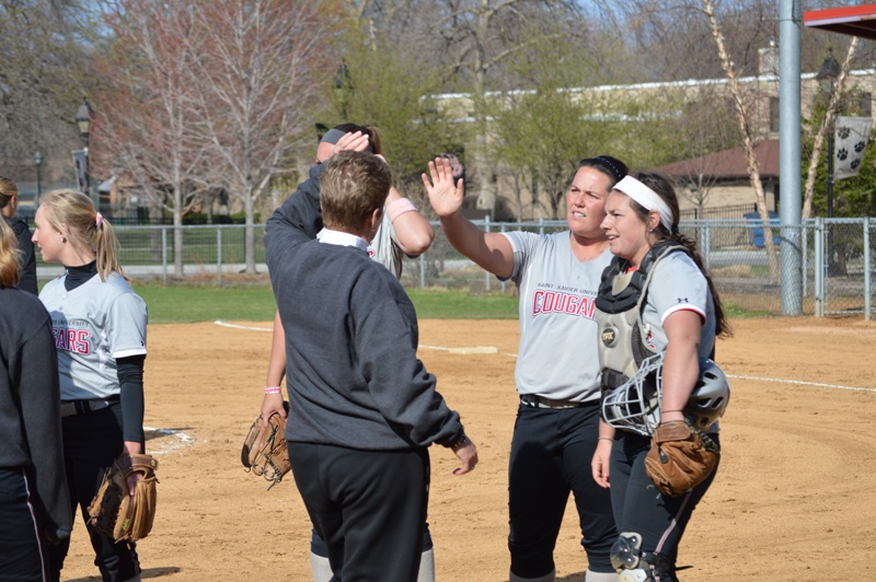 34th SXU Softball vs Judson (Ill.) 4/22/14 Photo