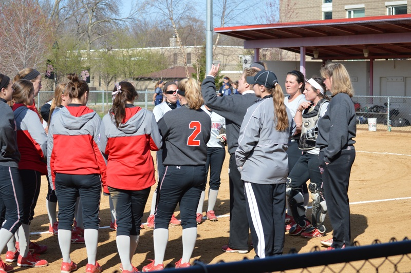 35th SXU Softball vs Judson (Ill.) 4/22/14 Photo