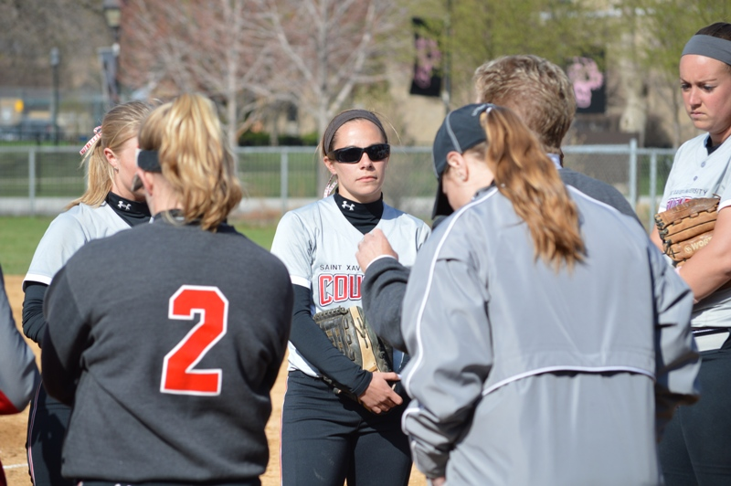 36th SXU Softball vs Judson (Ill.) 4/22/14 Photo