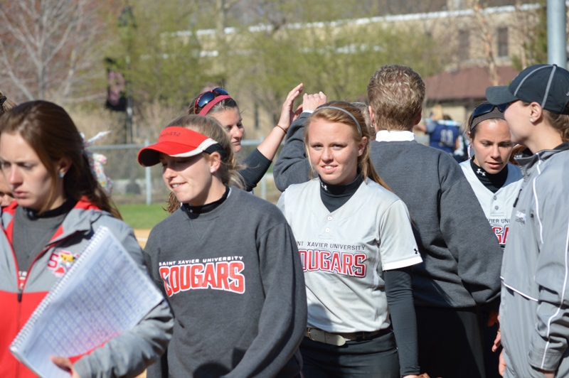 38th SXU Softball vs Judson (Ill.) 4/22/14 Photo