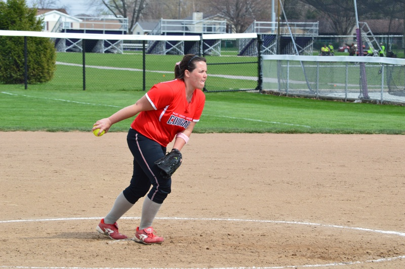 SXU Softball vs Olivet Nazarene (Ill.) 4/24/14 - Photo 8