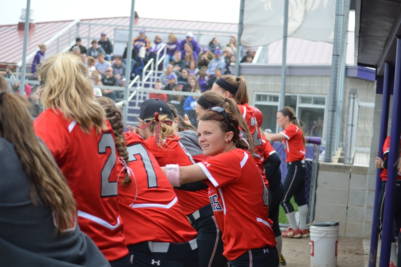 SXU Softball vs Olivet Nazarene (Ill.) 4/24/14 - Photo 22