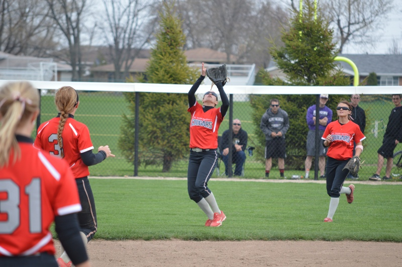 SXU Softball vs Olivet Nazarene (Ill.) 4/24/14 - Photo 25