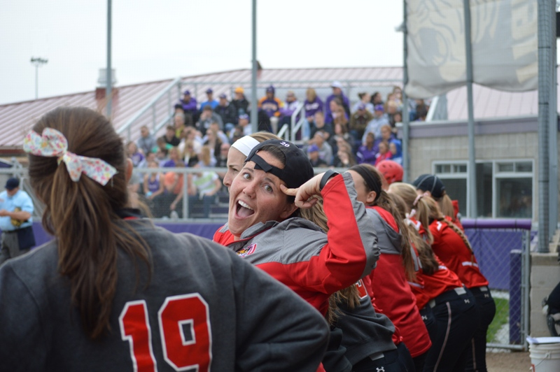 SXU Softball vs Olivet Nazarene (Ill.) 4/24/14 - Photo 28