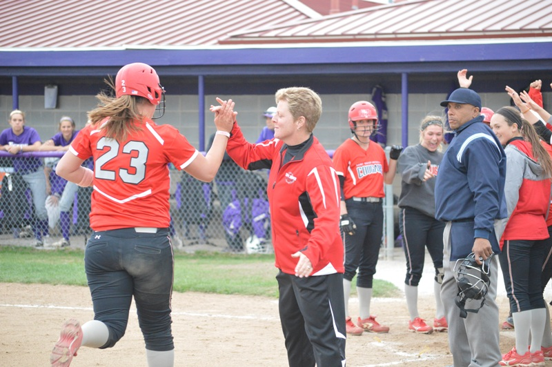 SXU Softball vs Olivet Nazarene (Ill.) 4/24/14 - Photo 41