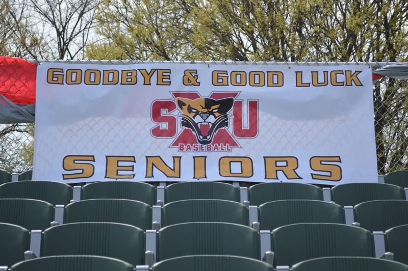 1st SXU Baseball 'Senior Day' vs Robert Morris (Ill.) 4/27/14 Photo