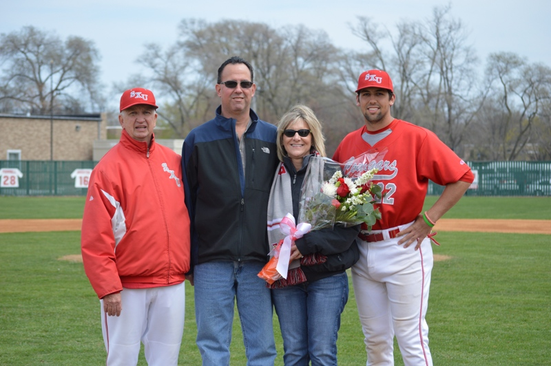 4th SXU Baseball 'Senior Day' vs Robert Morris (Ill.) 4/27/14 Photo