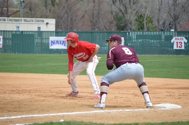 9th SXU Baseball 'Senior Day' vs Robert Morris (Ill.) 4/27/14 Photo