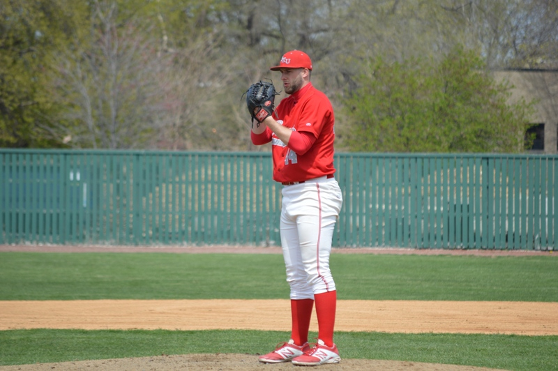 16th SXU Baseball 'Senior Day' vs Robert Morris (Ill.) 4/27/14 Photo
