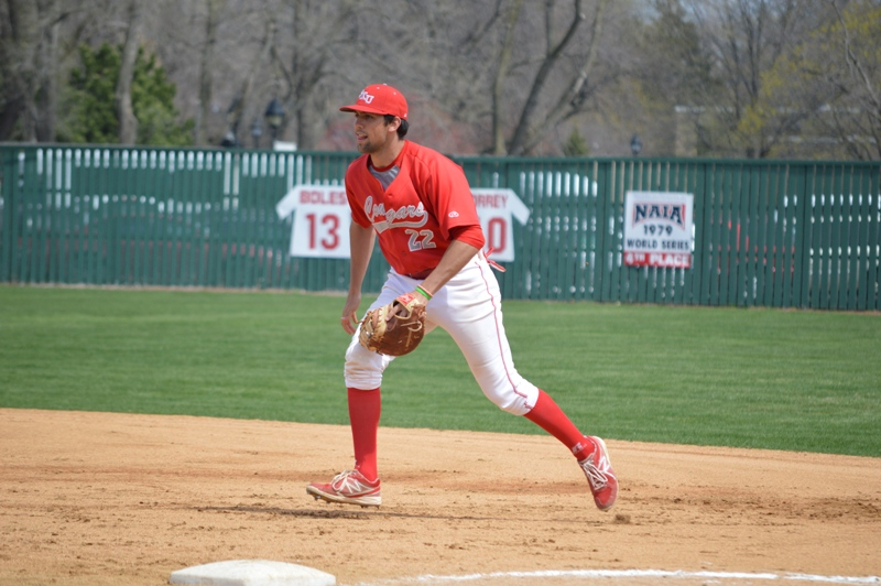 22nd SXU Baseball 'Senior Day' vs Robert Morris (Ill.) 4/27/14 Photo