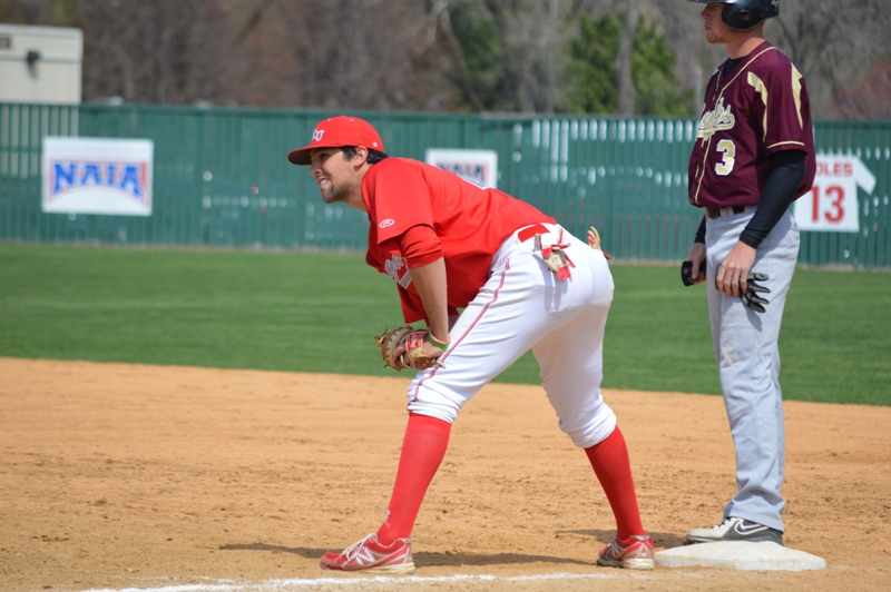 33rd SXU Baseball 'Senior Day' vs Robert Morris (Ill.) 4/27/14 Photo