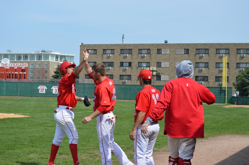 35th SXU Baseball 'Senior Day' vs Robert Morris (Ill.) 4/27/14 Photo