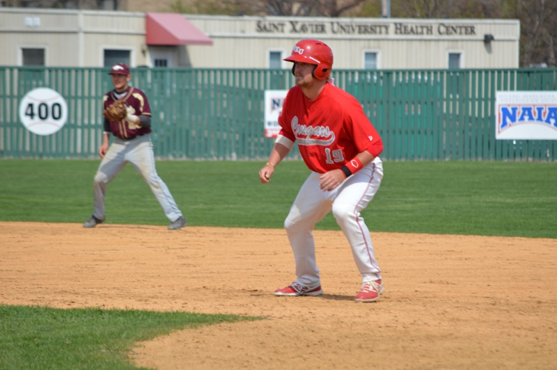 38th SXU Baseball 'Senior Day' vs Robert Morris (Ill.) 4/27/14 Photo