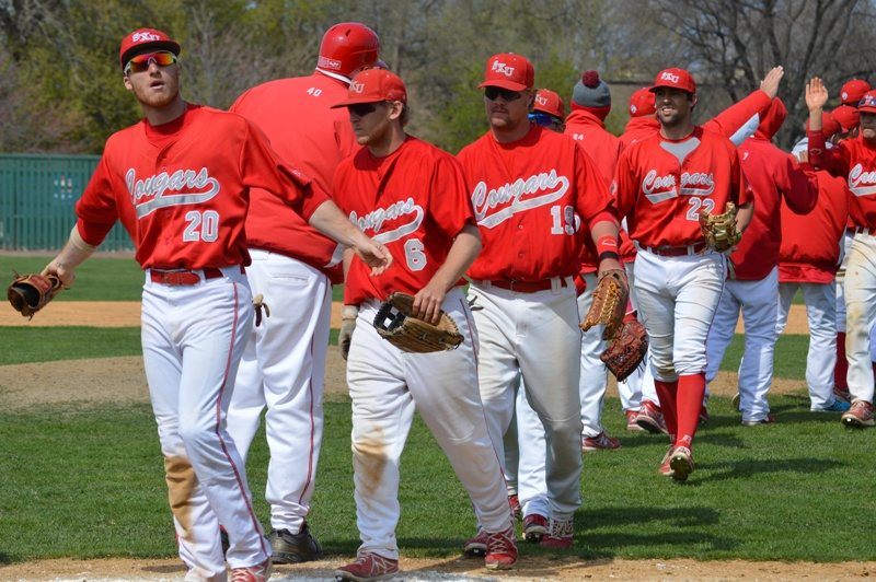 42nd SXU Baseball 'Senior Day' vs Robert Morris (Ill.) 4/27/14 Photo