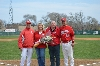 2nd SXU Baseball 'Senior Day' vs Robert Morris (Ill.) 4/27/14 Photo
