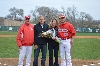 3rd SXU Baseball 'Senior Day' vs Robert Morris (Ill.) 4/27/14 Photo