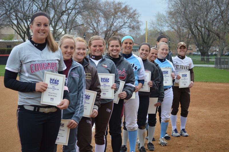 2014 All-Conference 2nd Team members