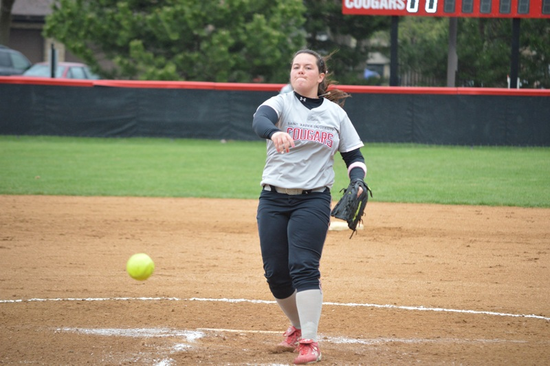 5th SXU Softball vs Calumet College (Ind.) - CCAC Tournament 5/2/14 Photo