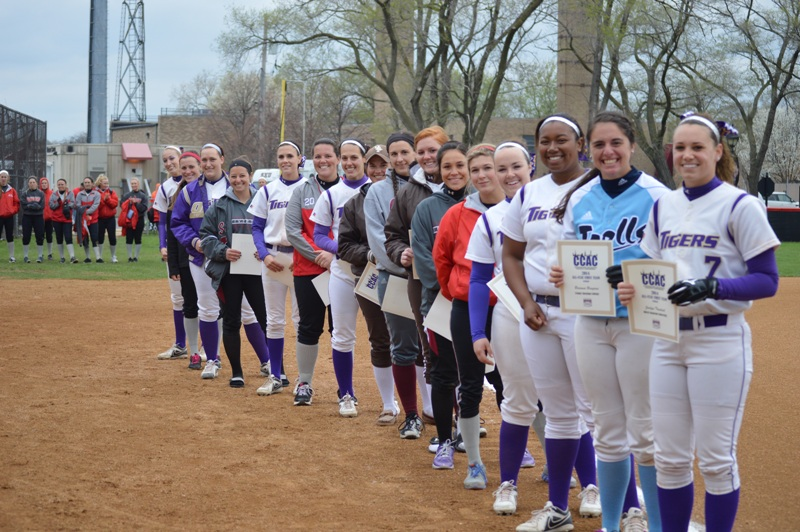 23rd SXU Softball vs Calumet College (Ind.) - CCAC Tournament 5/2/14 Photo