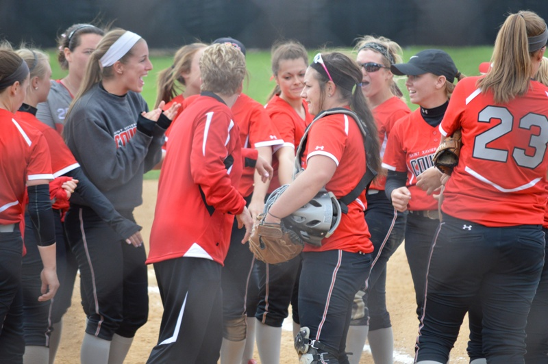 SXU Softball CCAC Softball Tournament 5/3/14 - Photo 20