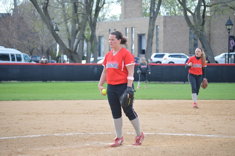SXU Softball CCAC Softball Tournament 5/3/14 - Photo 26