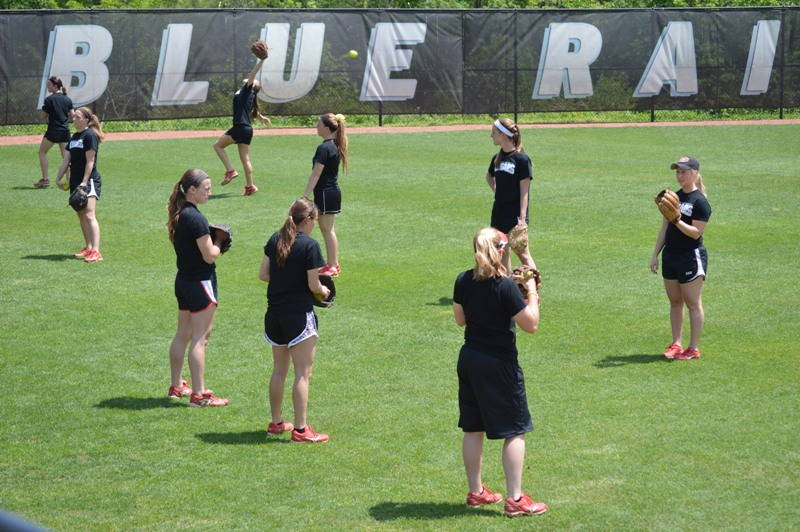 1st Day One of SXU Softball's Trip to Columbia, Ky. Photo