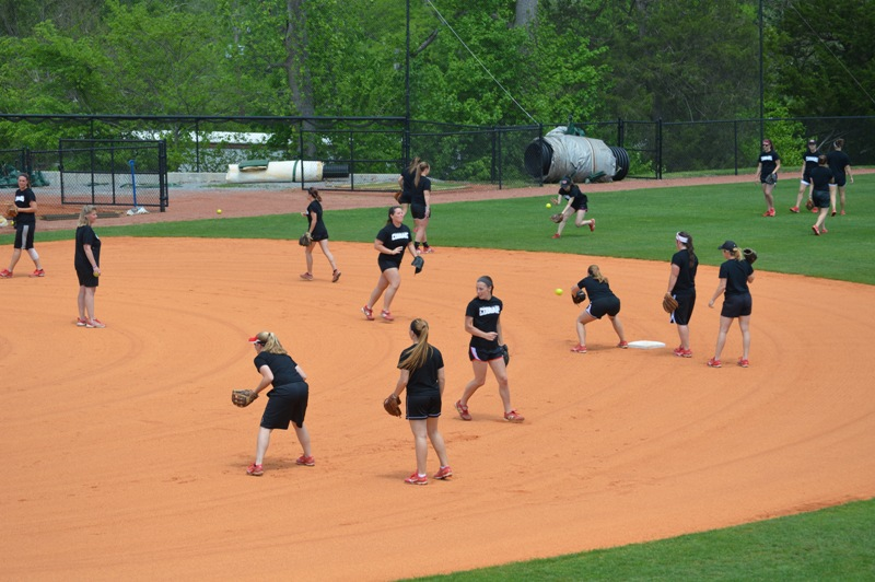 7th Day One of SXU Softball's Trip to Columbia, Ky. Photo