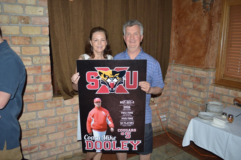 28th Coach Mike Dooley's Retirement Reception Photo