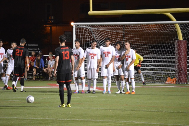 SXU Men's Soccer vs Rio Grande (Ohio) - 8/22/14 - Photo 26