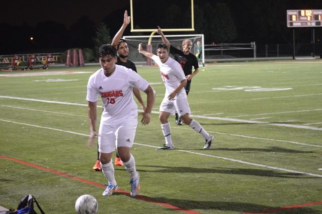 SXU Men's Soccer vs Rio Grande (Ohio) - 8/22/14 - Photo 33