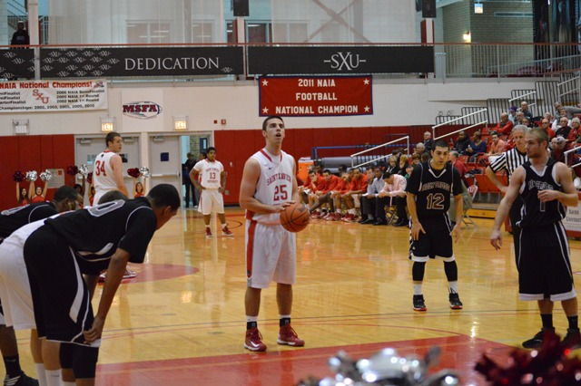 3rd Saint Xavier vs. Holy Cross College (Ind.) Photo
