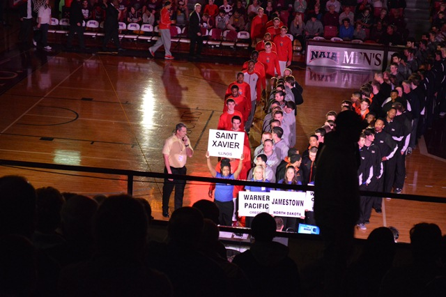 11th Saint Xavier University 2013 NAIA Parade of Champions Photo