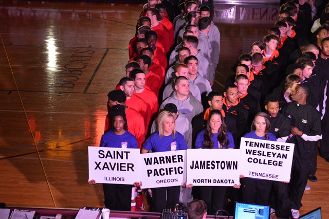 14th Saint Xavier University 2013 NAIA Parade of Champions Photo