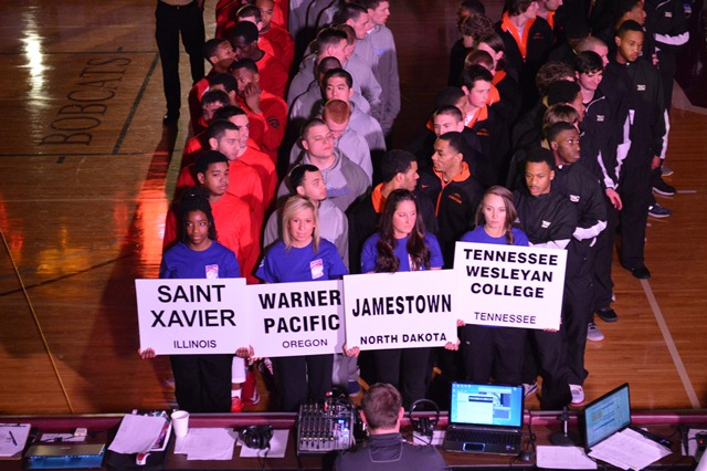 15th Saint Xavier University 2013 NAIA Parade of Champions Photo