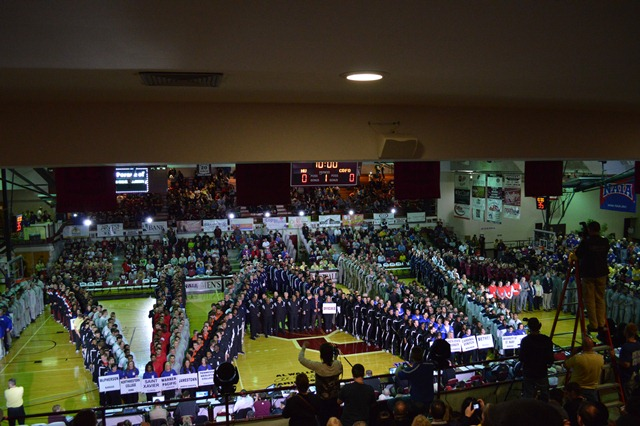 27th Saint Xavier University 2013 NAIA Parade of Champions Photo