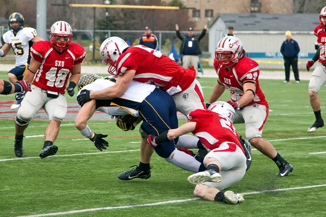 Saint Xavier vs. Marian University (Ind.) - Photo 12