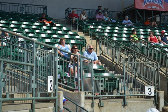 A view of some of the parents that made the trip to Columbus, Ga.