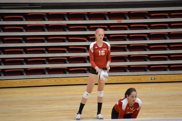 4th SXU Women's Volleyball vs Huntington (Ind.) 8/30/13 Photo
