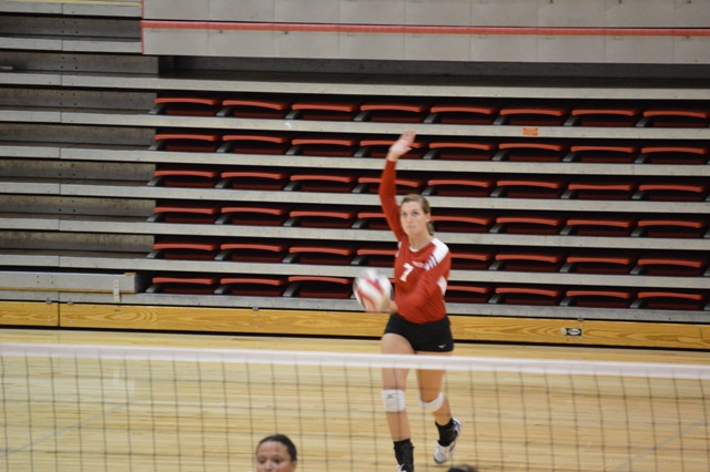10th SXU Women's Volleyball vs Huntington (Ind.) 8/30/13 Photo