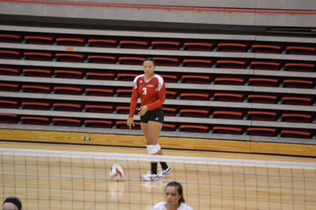 16th SXU Women's Volleyball vs Huntington (Ind.) 8/30/13 Photo