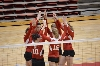 1st SXU Women's Volleyball vs Huntington (Ind.) 8/30/13 Photo