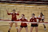 24th SXU Women's Volleyball vs Huntington (Ind.) 8/30/13 Photo